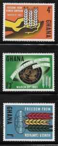 Ghana 1963 FAO Freedom from Hunger Campaign MNH A238