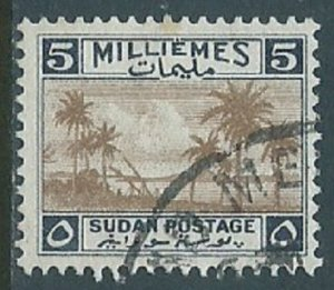 Sudan, Sc #67, 5m Used