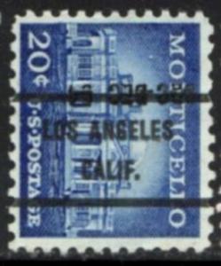 US Stamp #1047x71 - Monticello Liberty Series Precancel Single
