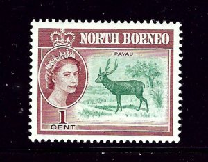 North Borneo 280 MH 1961 issue