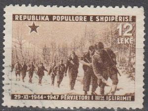 Albania #417 F-VF Used CV $16.00
