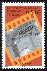 Andorra, French Sc# 584 MNH 2004 Europa