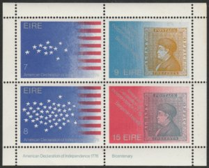 Ireland #392b MNH Block of 4 cv $6