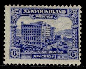 CANADA - Newfoundland GV SG169, 6c ultramarine, M MINT. Cat £16.