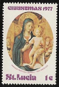 St. Lucia Mh  sc#  428