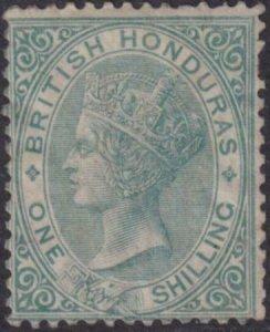 British Honduras 1866 SC 3 LH