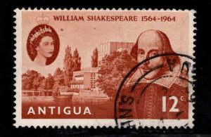 ANTIGUA Scott 151 Used Shakespeare stamp