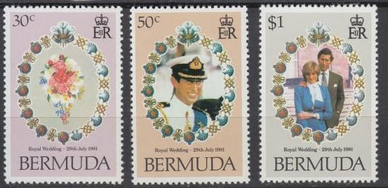 Bermuda - 1981 Royal Wedding Issue - MNH (679)