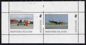Bernera 1982 Aircraft #03 perf  set of 2 values (40p &amp...
