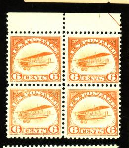 C1 MINT Block F-VF OG NH Cat $440