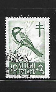 FINLAND, B117, USED, BIRDS