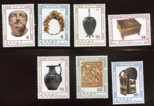 GREECE Scott 1306-1312 MNH** 1979 set