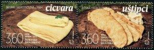 HERRICKSTAMP NEW ISSUES BOSNIA (CROAT ADMIN) World Food Day 2018 Setenant