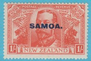 SAMOA 141 MINT HINGED  OG NO FAULTS EXTRA FINE !