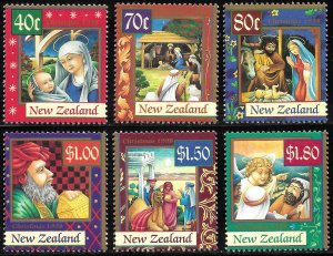 New Zealand # 1532 - 37 Mint Never Hinged