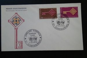 Europa Cept 1968 key FDC 67417