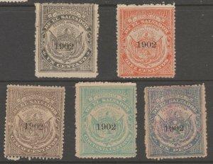 El Salvador Revenue Fiscal Stamp 11-28-20-5b as seen