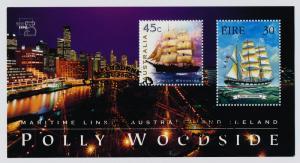 Australia 1729b used (cto) - Sailing Ships, Polly Woodside