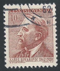 Czechoslovakia #1097 10h Karel Kovarovic
