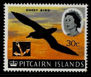 PITCAIRN ISLANDS QEII SG79, 1967 30c on 2s 6d, NH MINT.