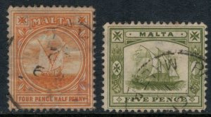 Malta #43,5  CV $8.00