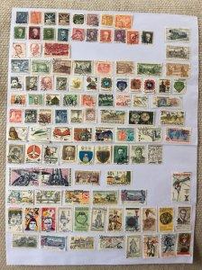 Czechoslovakia 100+ stamps - Lot B