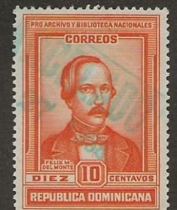DOMINICAN REPUBLIC SC # 316   USED