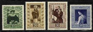 Liechtenstein #266-269 Mint VF NH -- Choice set