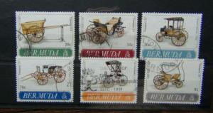 Bermuda 1991 Transport 4th Series Set Used