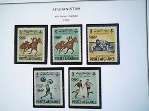 1962  Afghanistan  MNH  full page auction