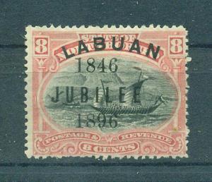 Labuan sc# 71b mdg cat value $50.00