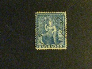 Barbados #14 used  a198.9205