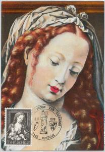 63432 -  BELGIUM - POSTAL HISTORY: MAXIMUM CARD 1970 -  ART