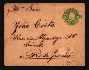 Brazil 1981 100R Postal Stationery Cover to Rio - Z19404
