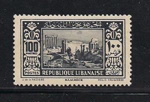 Lebanon 134, F-VF, MHH