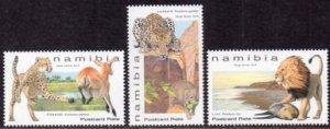 Namibia - 2019 Large Felines Set MNH**