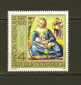 Austria Art 1887-1930 / 1987 Issue MNH