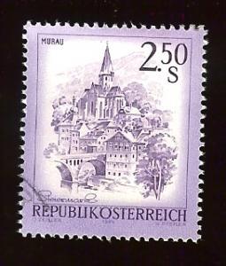 Austria 962 2.50s Murau, Styria used