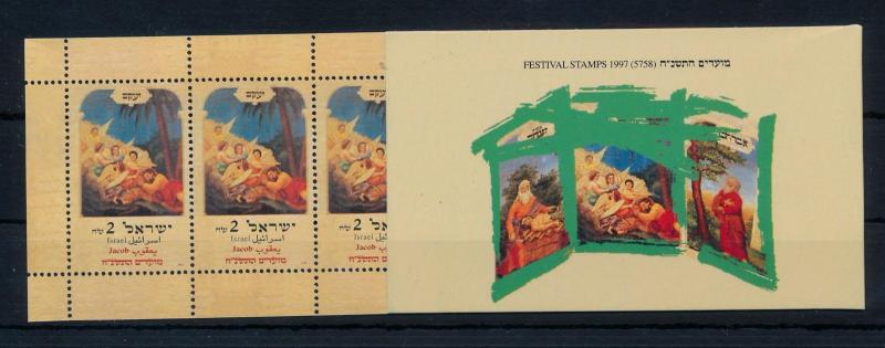 [57301] Israel 1997 Festival stamps Jacob Isaac Booklet MNH