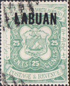 Labuan #63  Used