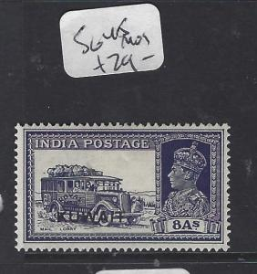 KUWAIT  (P0609BB)  ON INDIA  KGVI   8A  CAR   SG 45   MOG