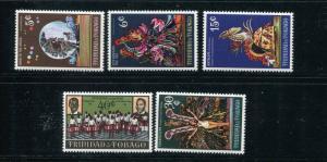 Trinidad & Tobago #176-80 MNH - Make Me An Offer