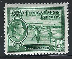 Caicos Islands   mnh S.C. 79