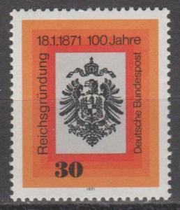 Germany #1052 MNH VF (ST921)