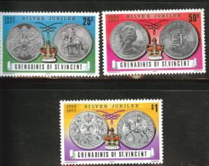 Grenadines of St. Vincent Scott 116-118 MNH** set