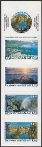NEW ZEALAND Universal Mail $7.50 International Mail Booklet - South Island..R506