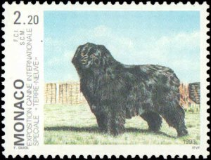 Monaco #1855, Complete Set, 1993, Dogs, Never Hinged