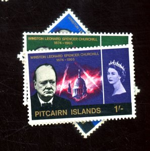 PITCAIRN IS #56-9 MINT F-VF OG LH Cat $20