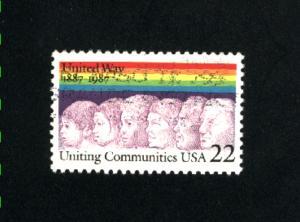 USA #2275  1 used 1987 PD .08