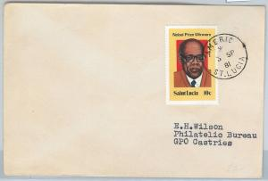 62312  -  ST LUCIA - POSTAL HISTORY -   COVER 1981: AMRIC
